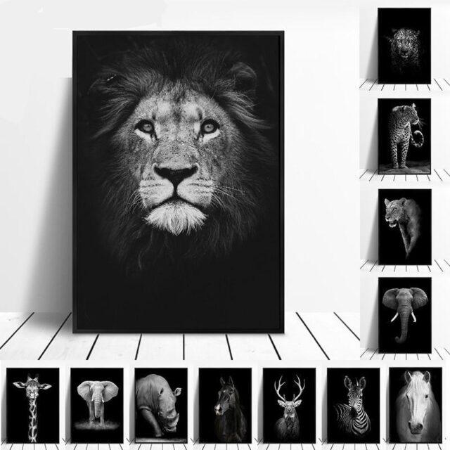 Animal Wall Art Canvas Paintings